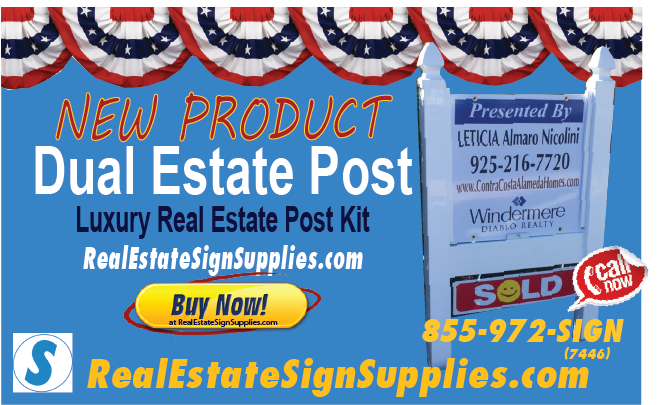 Luxury Real Estate Post Real Estate Signs And Supplies