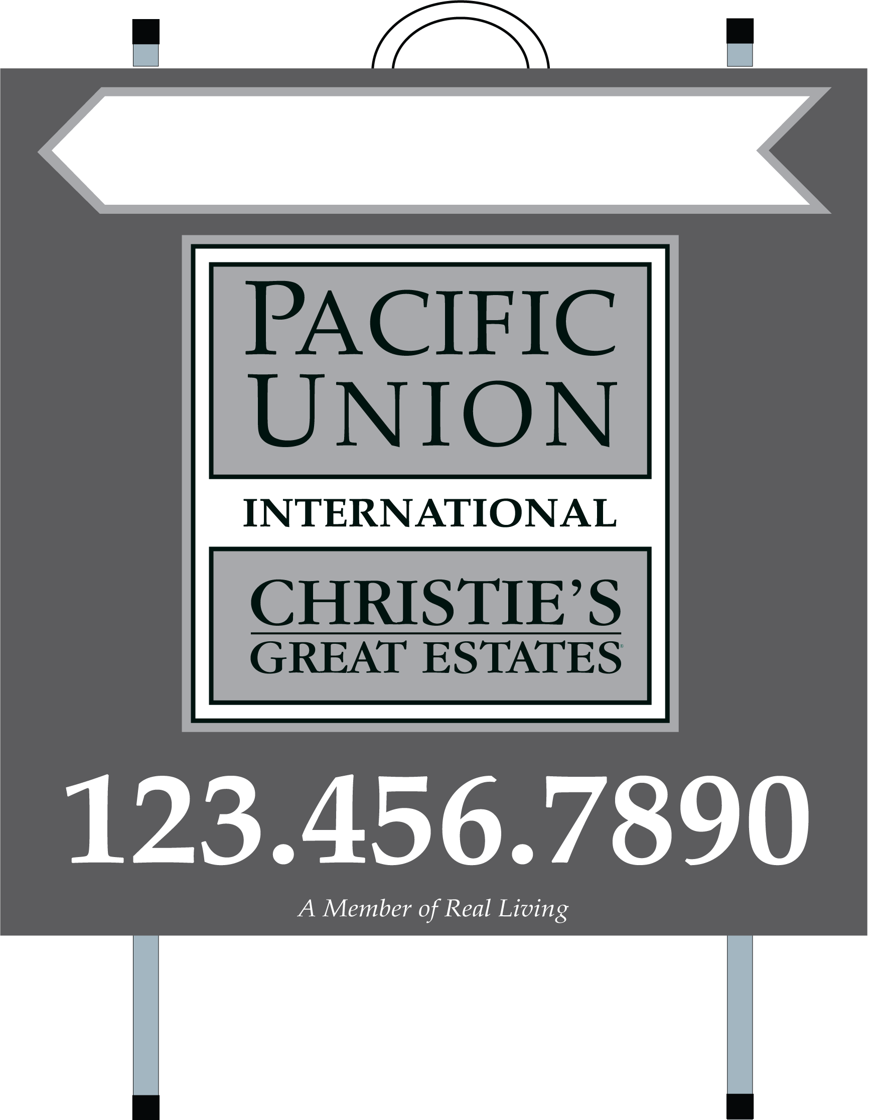 Pacific Union Real estate PVC Open House A Frames Template 1 - Real ...